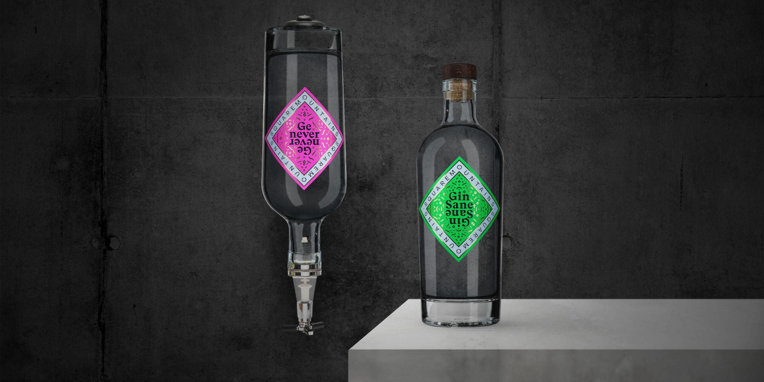 Flessen en etiketten