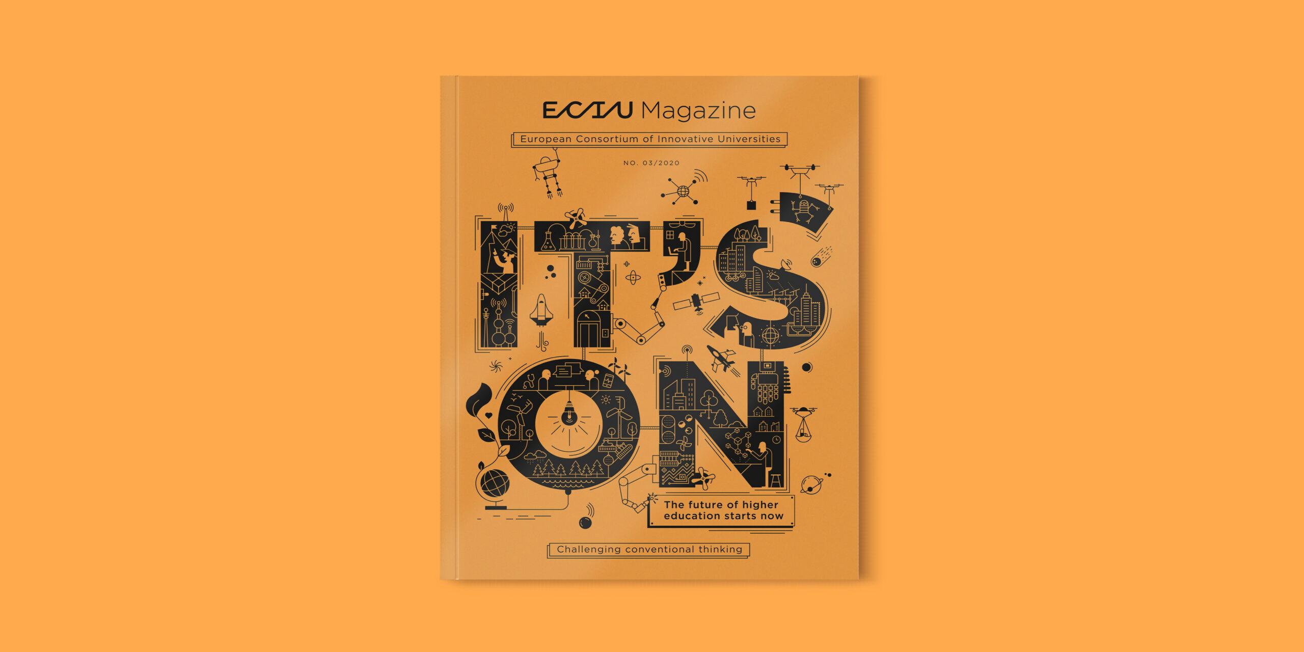 Cover ECIU magazine 2