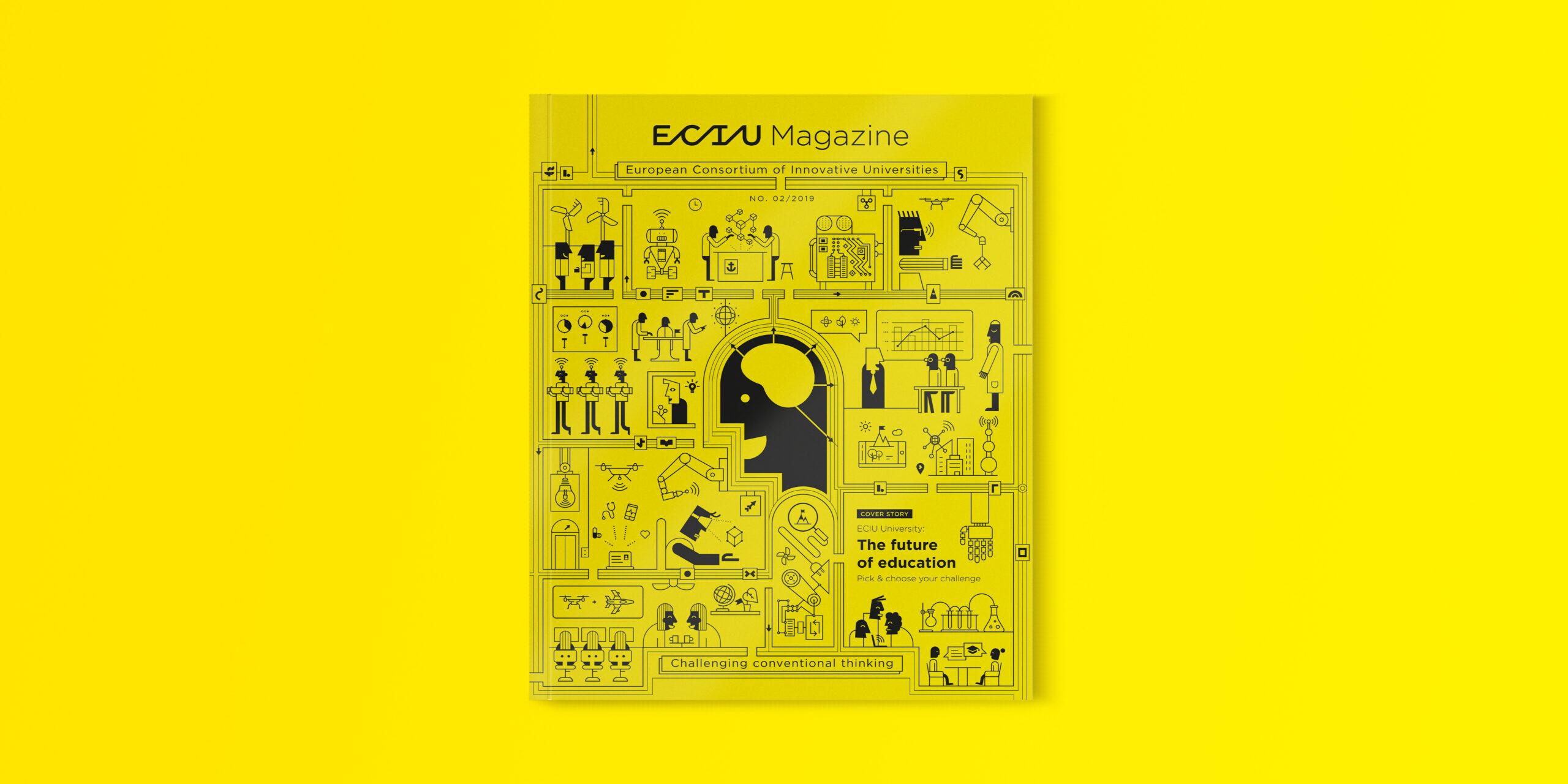 Cover ECIU magazine 1